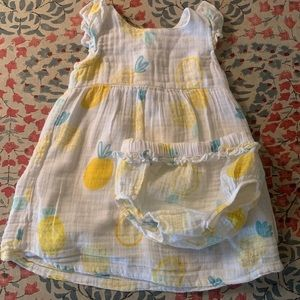 Angel Dear dress with bloomers